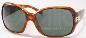 Ralph Lauren RL8001 Light Havana with Grey Green Lenses